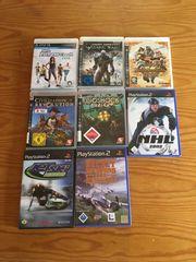 Ps3 und Ps2 Games