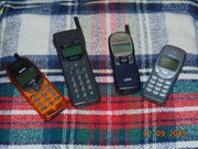 Verkaufe 4ältere Handys