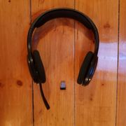 wireless HEAD set Logitec