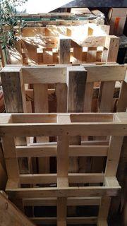 Einweg Holzpaletten