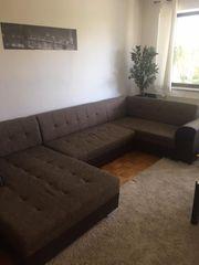 Braun Wohnlandschaften Sofa