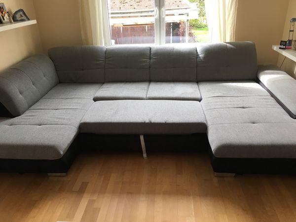 verkaufe Couch mit Klappe zum