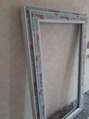 4 Kunststofffenster weiß 145x88 cm