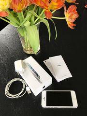 iPhone 5 Weiß Silber mit