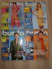 4x Burda Style Zeitschrift Nähjournal