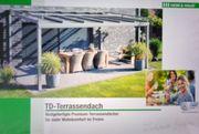 Terrassendach Überdachung ohne Verglasung Sommergarten