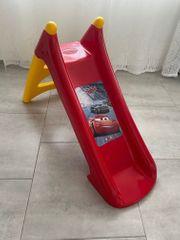 Kinderrutsche CARS Lightning mit Wasseranschluss
