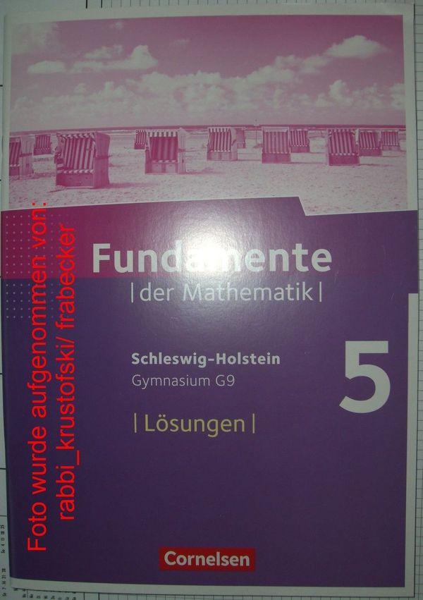 Fundamente der Mathematik 5 Schleswig-Holstein