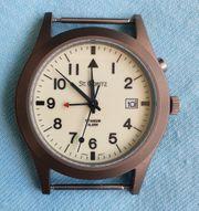 ST MORITZ Titan-Uhr mit Alarm