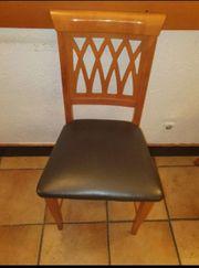 Stühle mit ECHT-LEDER Bezug