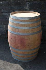 500 Liter HOLZFASS REGENTONNE STEHTISCH