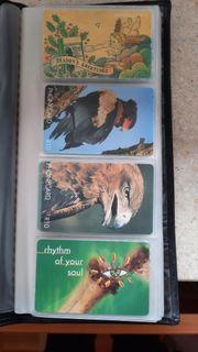 Telefonkarten 25 St meist Südafrika