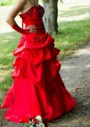 Kleid rot Größe 36 - 40