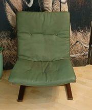 60er Vintage Sessel Leder Easy