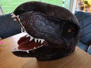 Dinosaurier Köpfe für Fasching