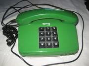 Tastentelefon altes grünes Telefon Post