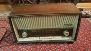 altes Radio Schaub Lornez Goldy