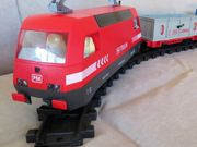 PLAYMOBIL Güterzug mit mega Zubehör