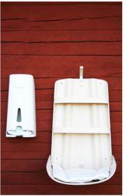 Holz Windelspender Nappyrette - byBo Design
