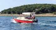 Motorkajütboot mit Trailer Tohatsu 4-Takt