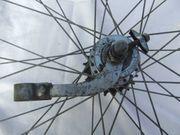 2 alte Fahrrad Laufräder 28