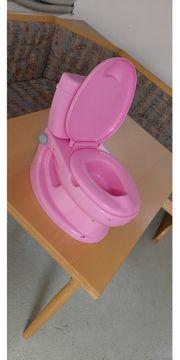 Die erste Toilette für Kleinkinder