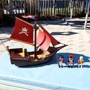 Playmobil Rotröcke Schiff