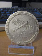 Nichttragbare Medaille Jubiläums-Sternflug zum Cannstatter