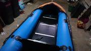 Schlauchboot mit Holzboden bis 15