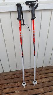 Leki Skistöck 85cm weiß rot
