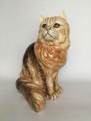 Katze Keramik