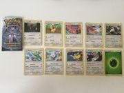 Pokemon Karten 10er Packungen wie