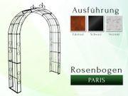 Metall- Eisen- Rosenbogen Paris mit