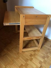 Computer Tisch Naturholz
