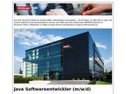 Java Softwareentwickler m w d