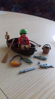 Playmobil Pirat Ruderboot