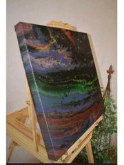 50x50cm Acrylbild Leinwand Malerei Abstrakt