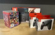 Nintendo Switch Konsole inklusive speile