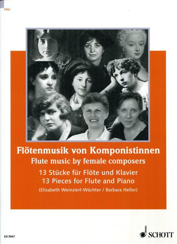 Flötenmusik von Komponistinnen Schott ED