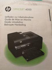 Drucker hp 4500 mit patronen