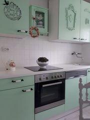 Shabby-Küchenzeile 2 80 mit E-Geräten