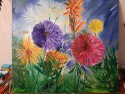 Ölgemälde 100x90 cm Impressionismus