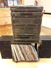 70 Schallplatten LP inkl Stereoanlage