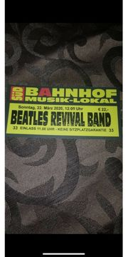 Beatles Revival Band Ticket
