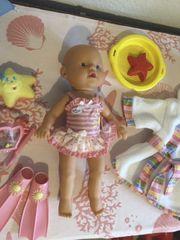 Baby born Schwimmpuppe mit Zubehör