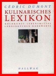 KULINARISCHES LEXIKON