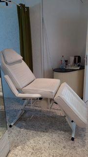 Weiße Kosmetikstudio Liege Kunstleder