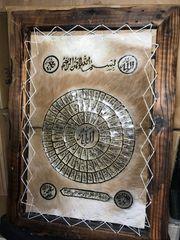 Islamisches Leinwand