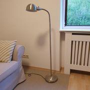 Stehlampe von Ikea silber