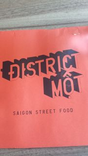 District Mot Saigon Street Food